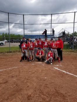 Bonnyville Braves League Champions