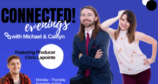 Connected! Tonight with Michael Menzies & Caitlyn Bush for December 1, 2020