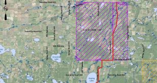 Regional waterline extending to Frog Lake, beyond