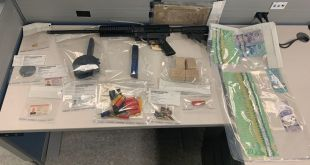 Two arrested in Elk Point for firearms and stolen property offences