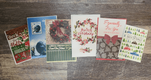 Holiday Cards For Seniors project nearing a close