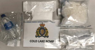 Cold Lake RCMP arrests following flight from police leads to drug seizure