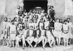 Girls of Lakeland High School 1930