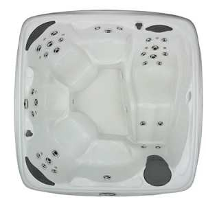Top View of the 740L Crossover by Dreammaker Spas