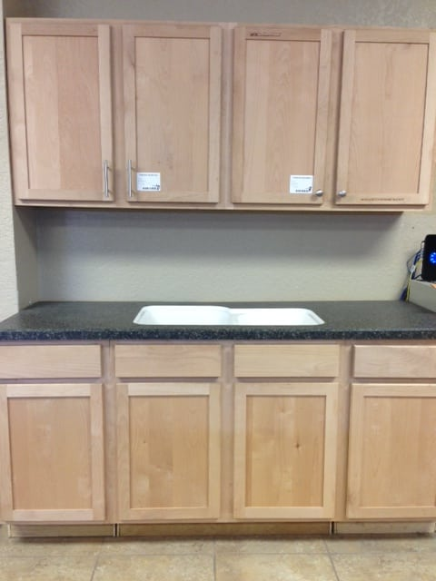 Unfinished Shaker Style Kitchen Cabinets