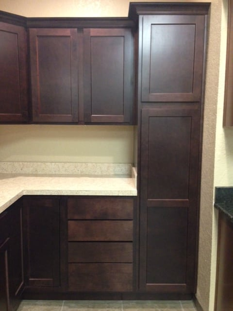 unfinished kitchen cabinets retro table | discount tru-cabinetry