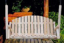 Country Porch Swing - Lakeland Mills