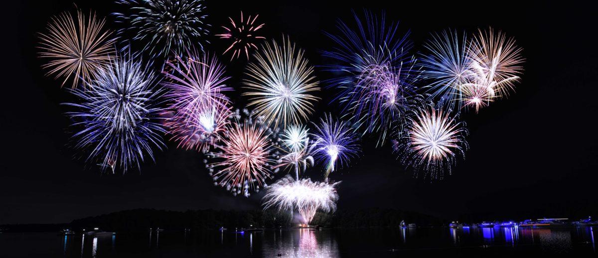 4th of July 2016 Fireworks Near Lake Lanier  Lake Lanier