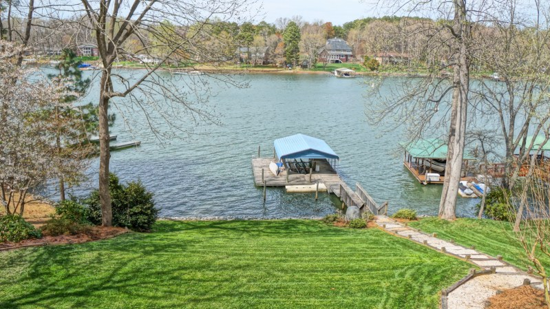 Just Listed: Mooresville Waterfront Home For Sale On Lake Norman