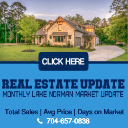 Lake Norman Real Estate Market Update September 2018