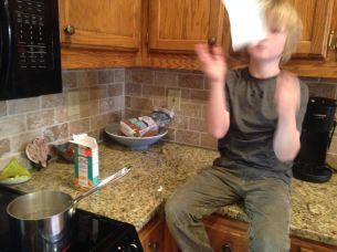 Making macaroni