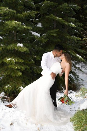 Winter Wedding at Camp Richardson