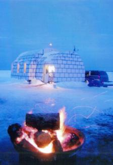 The Igloo Bar on Lake of the Woods  Lake of the Woods