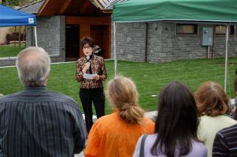Sundeleaf Plaza dedication speech