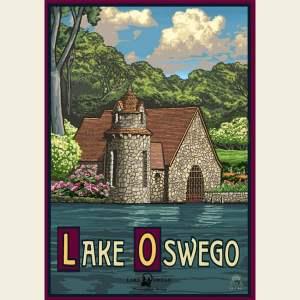 Paul A. Lanquist - Lake Oswego Spring Print