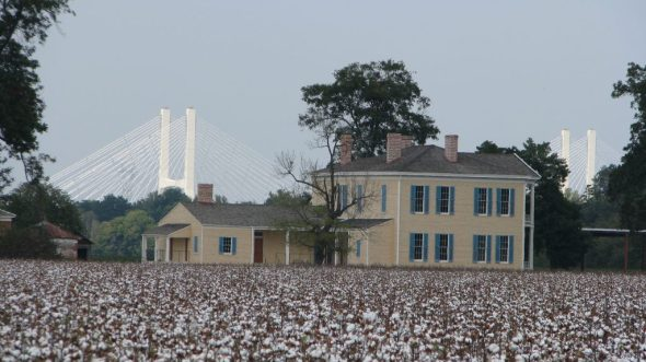 Cotton was first grown at Lakeport by Joel Johnson in 1831--nearly three decades before the 1859 Lakeport house was constructed.
