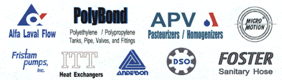 Distributors for the following product lines