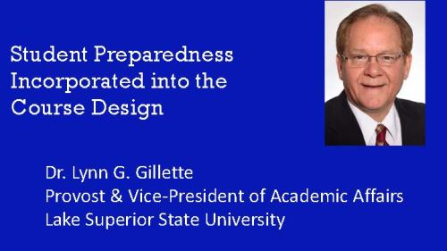 flyer for Gillette presentation
