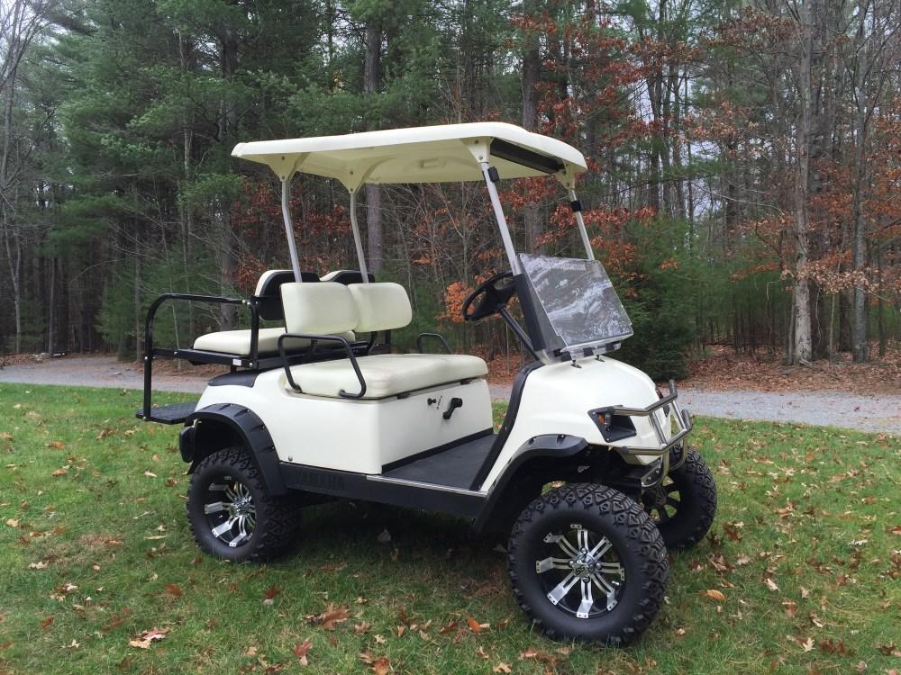medium resolution of photos of yamaha golf cart lift