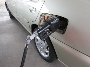 Filling up in Pasco County could be getting more expensive soon to help pay for road maintenance projects. (File photo)