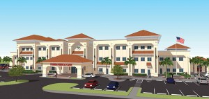 Florida Medical Clinic's Wesley Chapel location will be a three-story building with  85,000 square feet, and will be the group's third-largest facility behind Zephyrhills and Land O' Lakes. It's expected to open next summer. (Courtesy of Florida Medical Clinic)