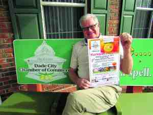 John Moors, executive director of the Greater Dade City Chamber of Commerce, said the 18th annual Kumquat Festival promises to be a fun and affordable event. (B.C. Manion/Staff Photo)