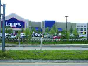 The Lowe's home improvement store at 21500 State Road 54 has scheduled a host of activities to celebrate its opening, beginning with a Pro Services Day set for April 16, which will also serve as the store's 'soft opening.' (Kathy Steele/Staff Photo)