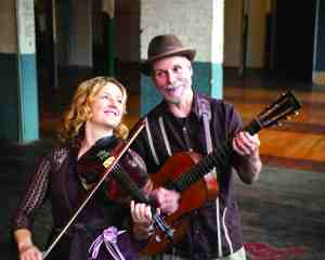 Erynn Marshall and Carl Jones will perform at the Florida Old Time Music Championship on April 10 and April 11. (Courtesy of Jackson & Moser Photography)