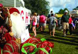 The GFWC Lutz-Land O' Lakes Woman's Club puts on the annual Lutz Arts & Crafts Festival each year at Lake Park. The event is the club's biggest fundraiser and usually attracts about 30,000 people.