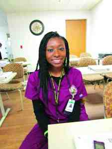 TeNiiyah Gore, a participant at the B.E.S.T. Academy Camp Program at Florida Hospital Zephyrhills, said the program 'gives us a chance to discover what we want to be.'