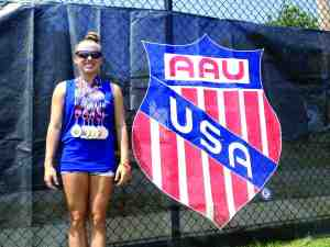Nikki Carroll is ready to put away her medals and focus on competing for the University of South Florida, where she earned a full scholarship for her pole-vaulting skills.