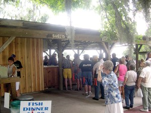 The museum had popular fish frys several years ago, and they hope its return will reacquaint people to their attraction. (Courtesy of the Pioneer Florida Museum & Village)