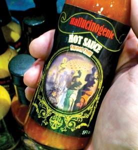 One of the five artisanal hot sauce developed by Intensity Academy for The Dali Museum in St. Petersburg.