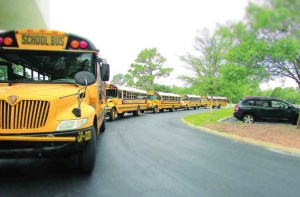Future buses transporting children in Pasco County Schools are expected to use natural gas for fuel. (File Photo)