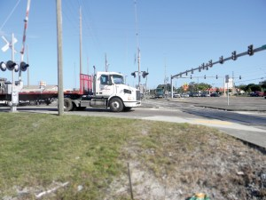 A heavy volume of cars and trucks makes State Road 54 and U.S. 41 one of the busiest intersections in Pasco County. (File Photo)