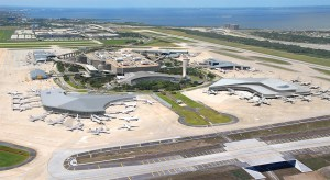 Tampa International Airport is in the midst of a three-phase $2.5 billion project to make the airport a 'people mover' for the 21st century. In the first phase, the airport will expand the main terminal by 55,000 square feet, build a new rental car center, and add 65 shops and restaurants including Hard Rock Café and P.F. Chang's. (Images courtesy of Tampa International Airport)