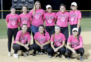 The Sunlake softball team is having its best season in four years with a 16-8 record. It recently clinched the No. 2 seed for the Class 7A, District 10 tournament. (Courtesy of Nelson Garcia)