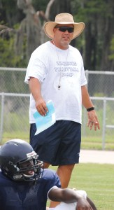 Freedom High School Coach Floyd Graham is likely in for a rebuilding year. (File photo)