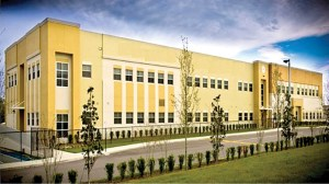 This is a prototype of what Sunlake Academy will look like once it's complete. The 40,000-square-foot facility expects to accommodate 1,150 students, from kindergarten through eighth grade. (Photos courtesy of Charter School Associates)