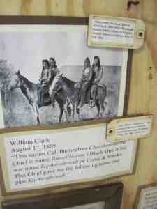 Isabella Torres and Lauren Pinero-Colon conducted thorough research to create an exhibit tracing the life of Sacagawea and her contributions to Lewis and Clark's Corps of Discovery.