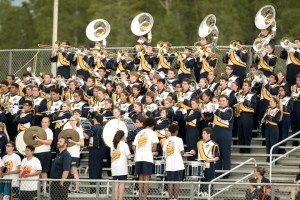 The Steinbrenner marching band is looking to raise upwards of $55,000 for a trip to New York City in January. Approximately 120 students are in the band. (Photos courtesy of Ingrid Babajanof)