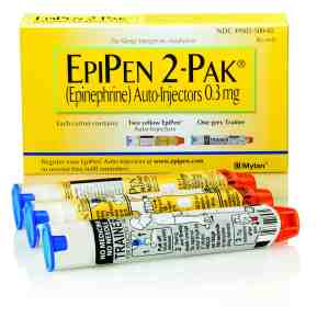 Mylan, the makers of the EpiPen, recently announced it would produce a generic version that it would sell for $300 a two-pack. That move came after intense criticism following the company's announcement that it was increasing the price of the product by nearly 400 percent. The device, which was sold at a wholesalepriceof just under $60 in 2007, has risen to $600 for a two-pack in 2016. It marks the product's 15th price hike over the past seven years. (Courtesy of Mylan)