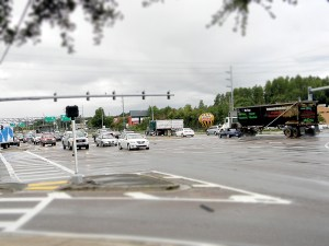 A transit study will seek solutions for congestion problems in Hillsborough, Pasco and Pinellas counties. One logjam motorists often face is at the intersection of U.S. 41 and State Road 54 in Land O' Lakes. (File Photo)