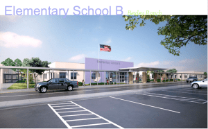 Courtesy of Pasco County Schools This rendering depicts what the exterior view of a new elementary under construction in Bexley, will look like.