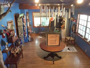 The wizard-themed shop offers handcrafted wizardry wands along with feather quills, and cosplay props and costumes.
