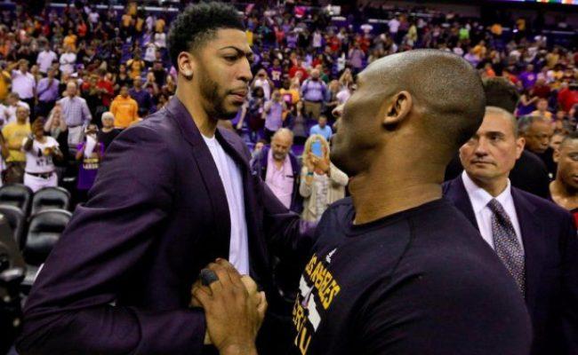 Video Kobe Bryant Speaks On Anthony Davis Getting Fined