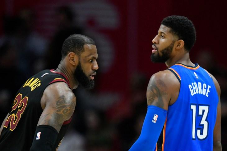 NBA: Oklahoma City Thunder at Cleveland Cavaliers