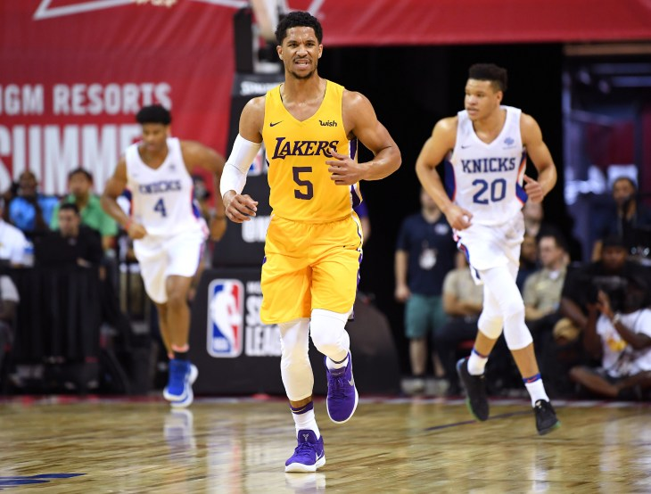 NBA: Summer League-Los Angeles Lakers at New York Knicks