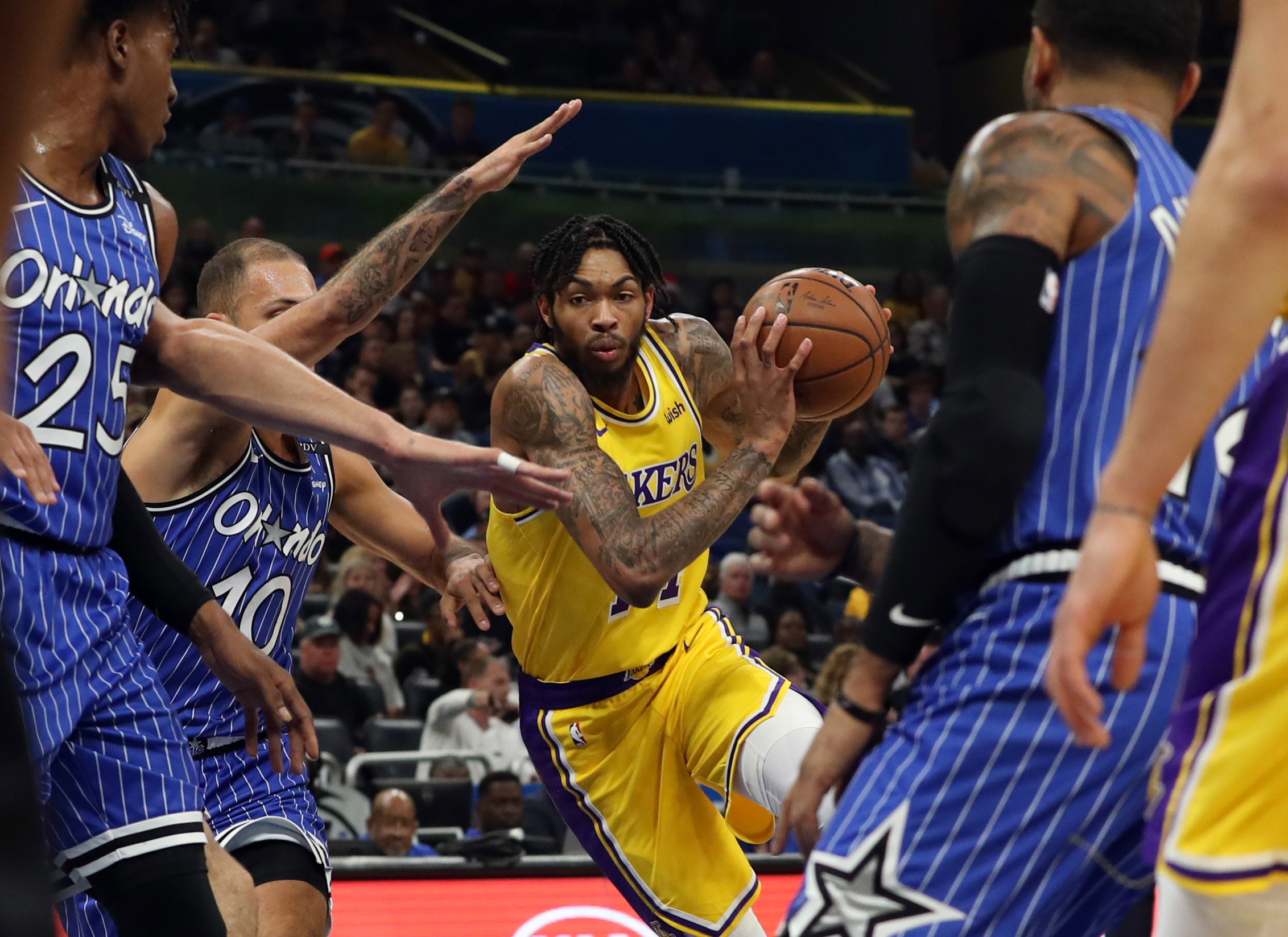 c18d0a029af Preview  Lakers Try to Continue Aggressive Play Against Orlando ...