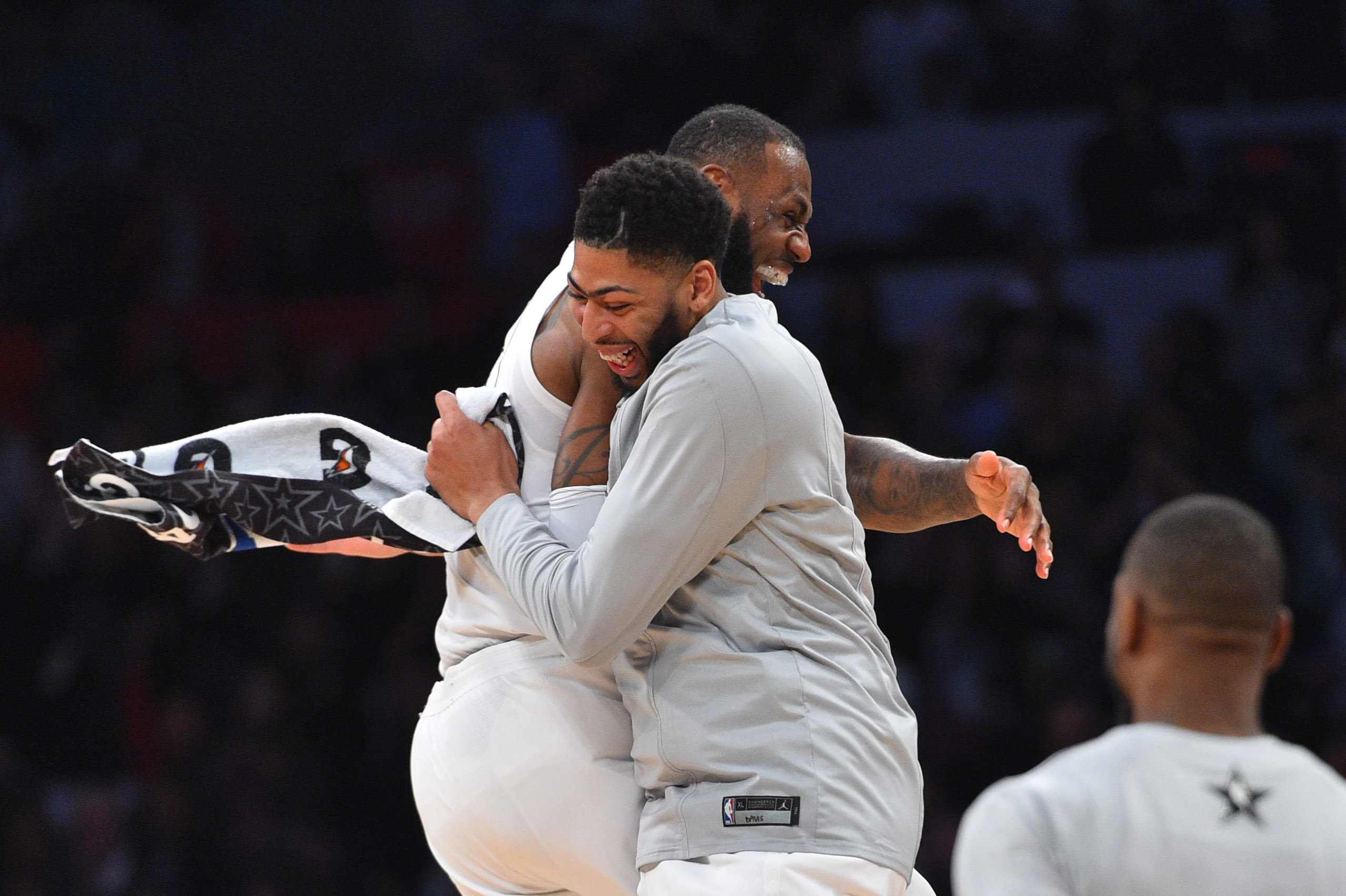 f9bccf063a7b LeBron James on Potential Trade for Anthony Davis
